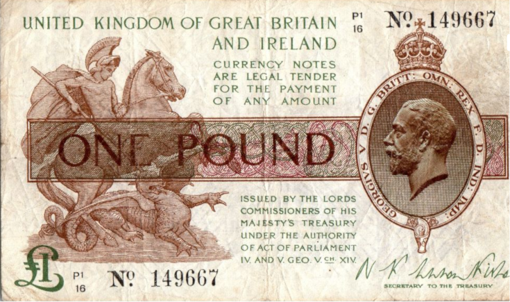 Picture of one pound